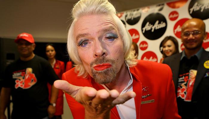 Richard Branson - человек бренд
